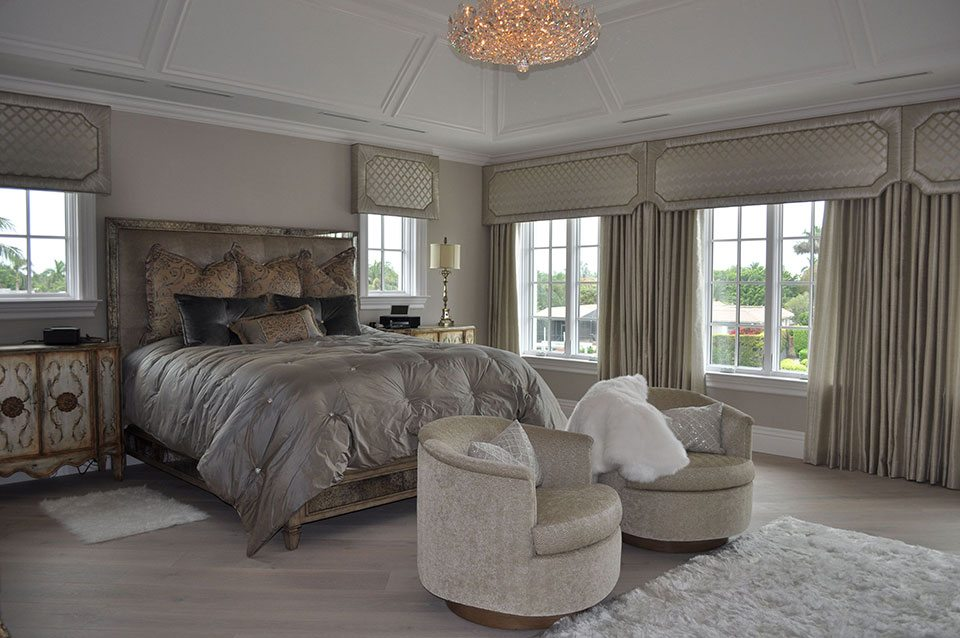 We can coordinate your existing bedding with your new window treatments. We carry thousands of fabrics and trims that make our design process easy and fun.